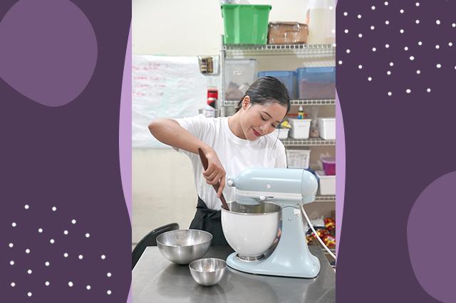 Pembuatan cookies di MOOKIE dok. Rahma Putri ala duniamasak