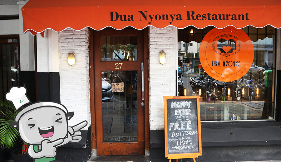 Review Dua Nonya restoran via duniamasak