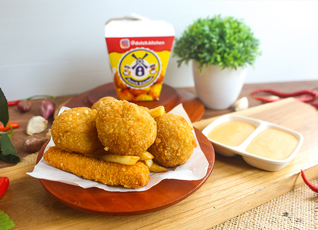 dutch kitchen bitterballen belanda isi chicken dok. duniamasak