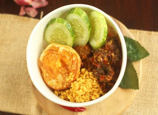 Nasi Ayam Fillet Sambal Matah dok. duniamasak