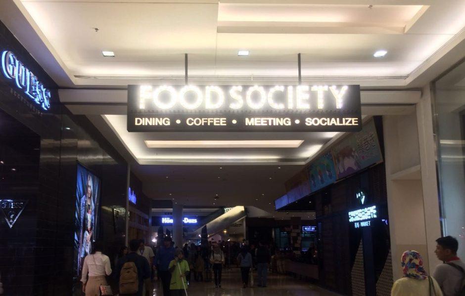 Food society Kota Kasablanka via jalan3.com ala duniamasak