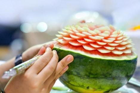 Fruit Carving via freepik ala duniamasak