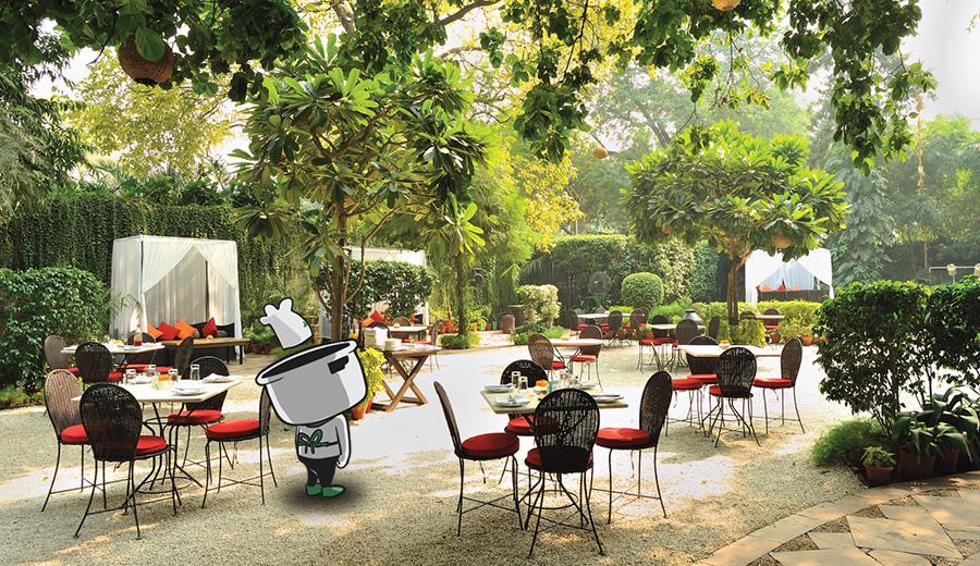 Sewara Garden Restaurant via sewara.com
