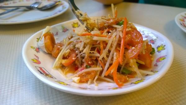 Kuliner Favorit Thailand Som Tam via pixabay.com