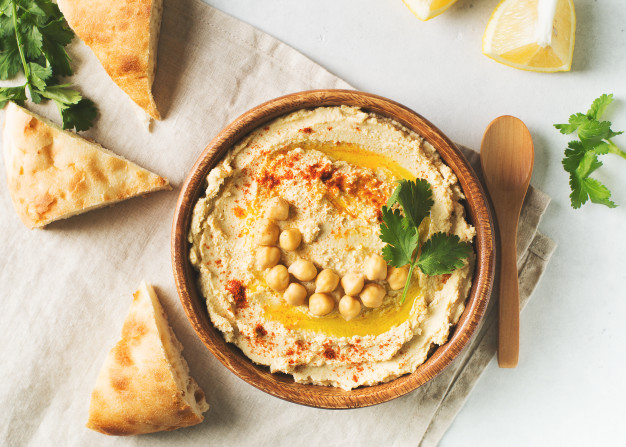 Resep membuat Hummus via freepik