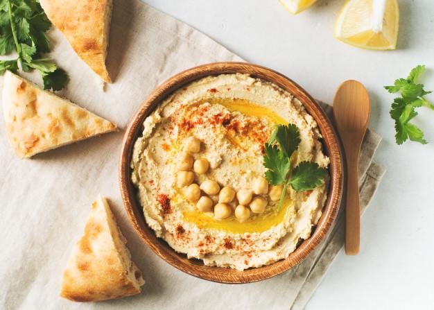 Resep membuat Hummus via freepik