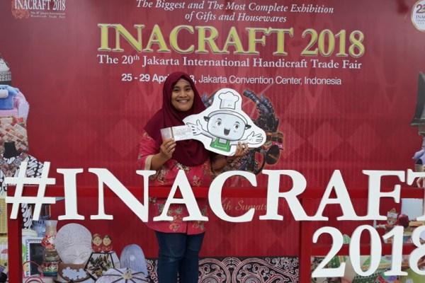 Inacraft 2018 & DuniaMasak via dok. pribadi