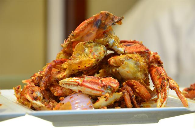 Kepiting makanan yang disukai via pexels.com