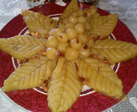 Makanan khas Riau kue asidah via bobo.grid.id ala tim duniamasak.com