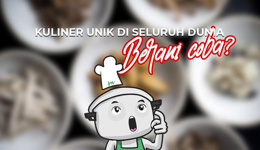 Kuliner Dunia Unik via dok DuniaMasak.com