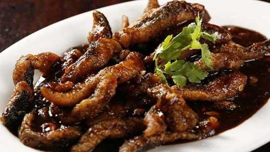 Belut Bumbu Kecap Pedas Makanan dari Belut via resepdanmasakan.com ala duniamasak.com