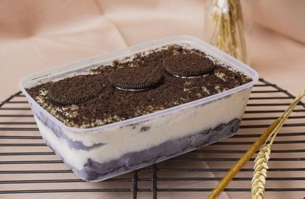 Makanan viral dirumahaja oreo dessert box dalgona tiktok via theshonet.com ala duniamasak