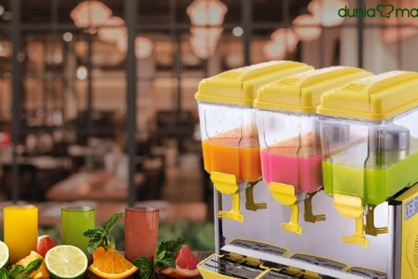 Manfaat Juice Dispenser pada Restoran via freepik ala tim duniamasak