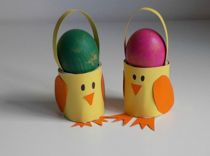 Menghias telur paskah dengan kertas crap via oddsocksandlollipops.co.uk ala duniamasak