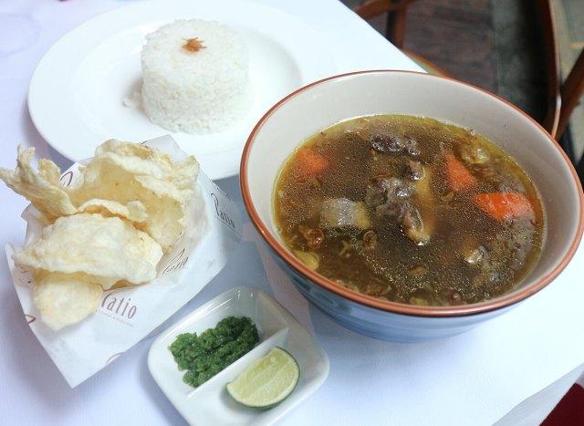 Soup Iga Asam via dok. Duniamasak.com