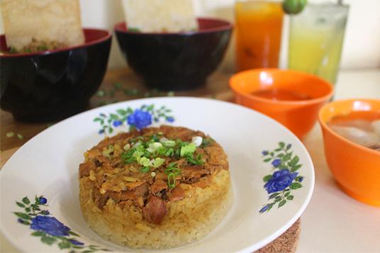 Kuliner Mie - AL kebon jeruk jakarta nasi tim ayam dok. duniamasak
