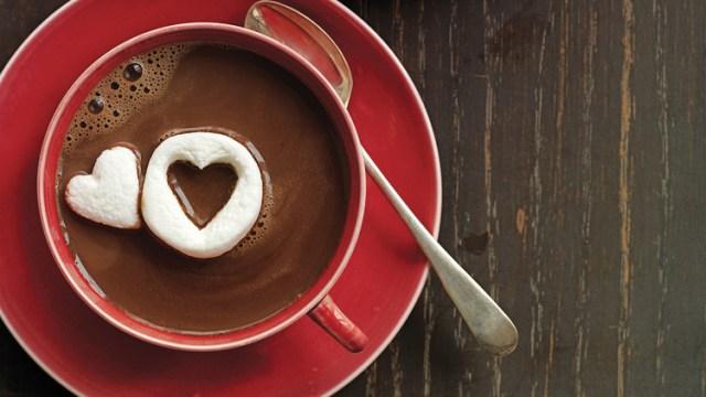Hot Chocolate via www.marthastewart.com