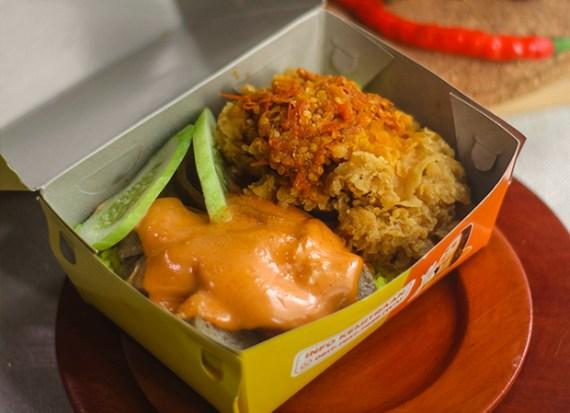 Nasi Gila Kuning Mentai dok. duniamasak