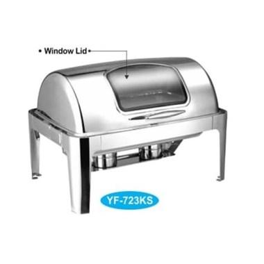 Peralatan katering Pemanas Makanan Chafing Dish GETRA YF 723 KS via duniamasak.com