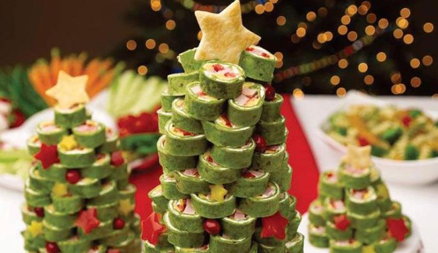 pohon natal dari sushi via catalinaop.com ala tim duniamasak