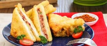 Sandwich Goreng via: http://www.dapurkobe.co.id/