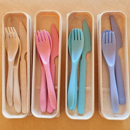 Souvenir pernikahan pandemi cutlery set peralatan makan via  thecraftylorisan.com.au ala duniamasak.com
