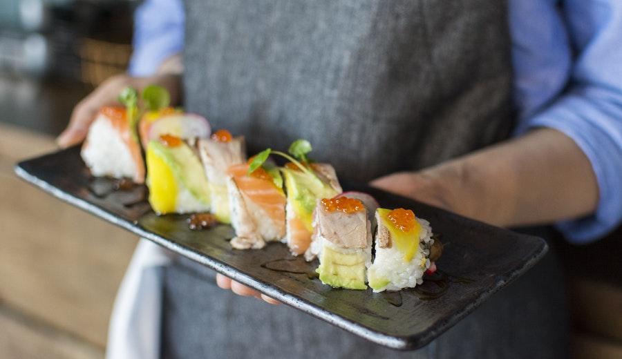 Makanan Jepang: sushi via pexels