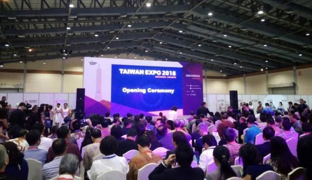 Opening Ceremony Taiwan Expo 2018 via dok. DuniaMasak