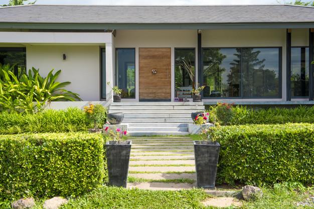 Tips dekor rumah lebaran teras rumah via freepik ala duniamasak