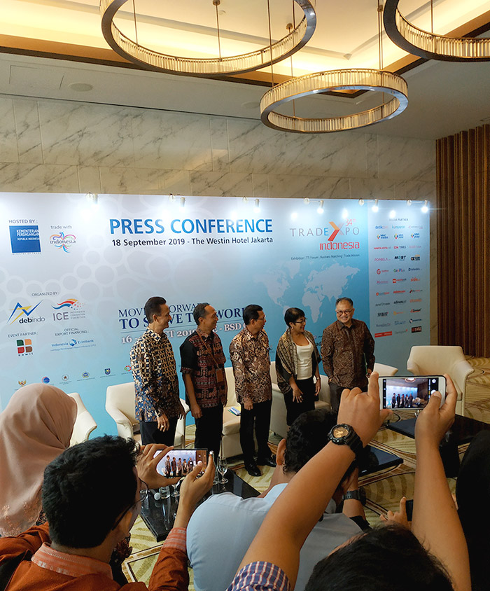 Trade Expo Indonesia 2019 dok. duniamasak