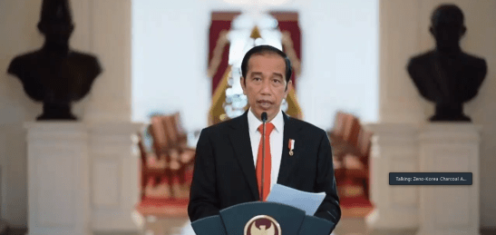 Trade Expo Indonesia 2020 Virtual Joko Widodo dok. duniamasak