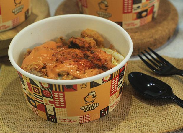 Truffle Chicken Rice with Mentai Sauce dok. duniamasak