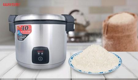 wise rice cooker bisa didapatkan di duniamasak.com untuk masak nasi
