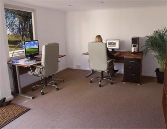 Garden Office Interior Design Dunster House