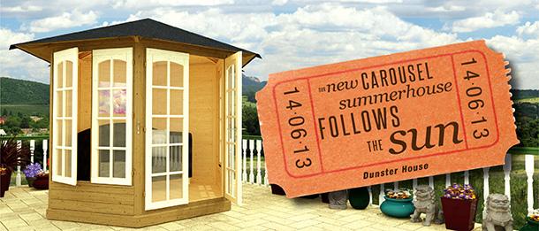Carousel Summerhouse Dunster House