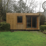 Competition Exterior Garden Office Dunster House