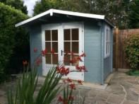 Eco Garden Log Cabin Dunster House