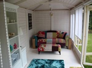 Decorating Log Cabin Dunster House