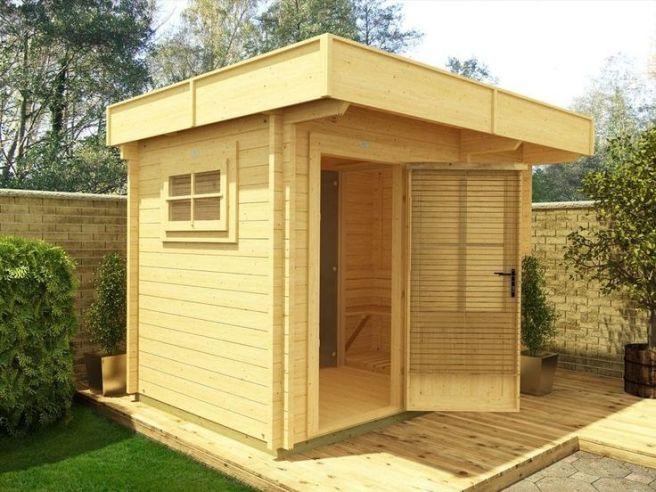Sauna Cabin Dunster House