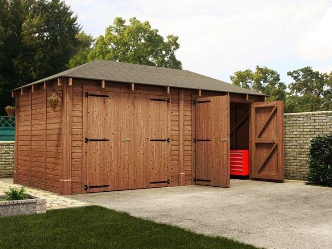 Garages Dunster House