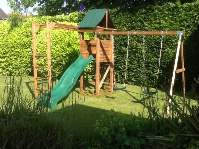Customer Reviews MonkeyFort Woodland Climbing Frame Dunster House