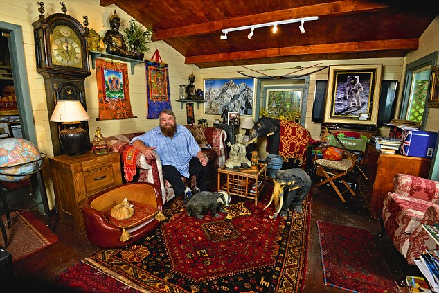 Brian Blessed: My Haven-Cabin/Chalet