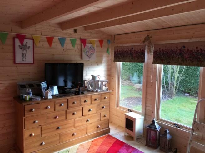 Log Cabin Dunster House Interior