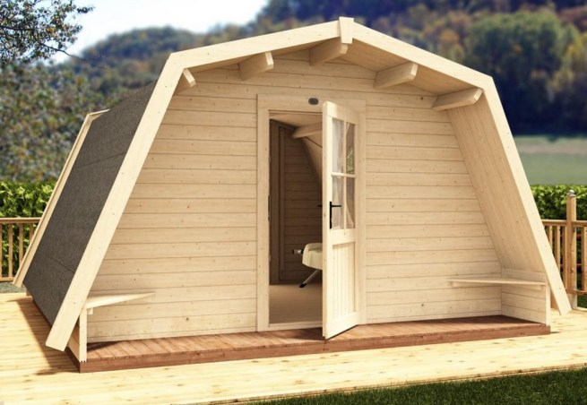 Glamping Cocoon Dunster House