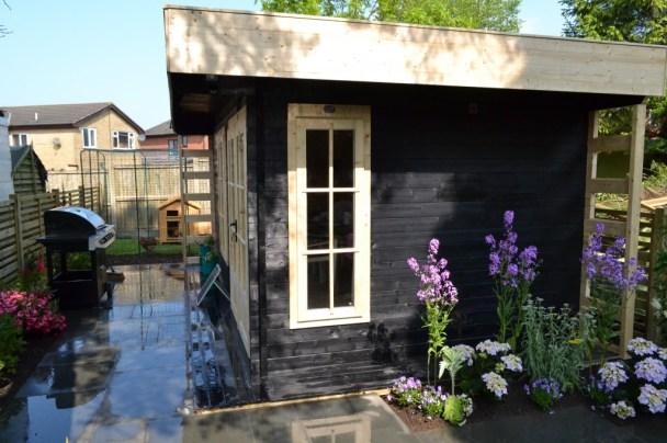 Love Your Garden Garden Office Exterior