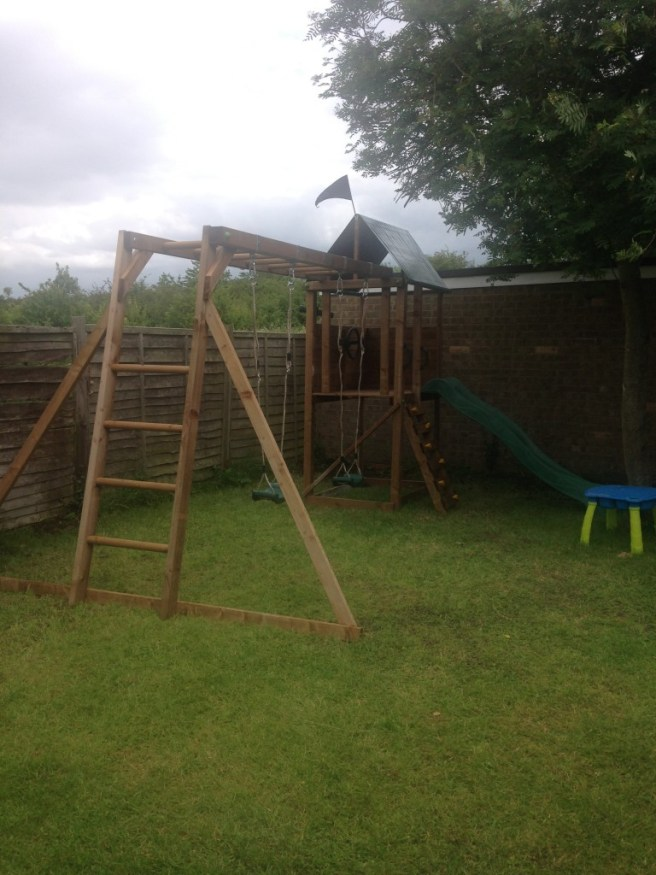 Customer Reviews: SquirrelFort Climbing Frame Dunster House