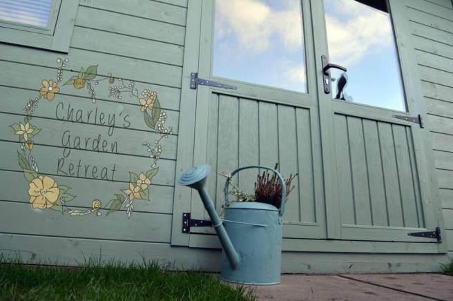 Garden Beauty Salon - Severn Log Cabin from Dunster House