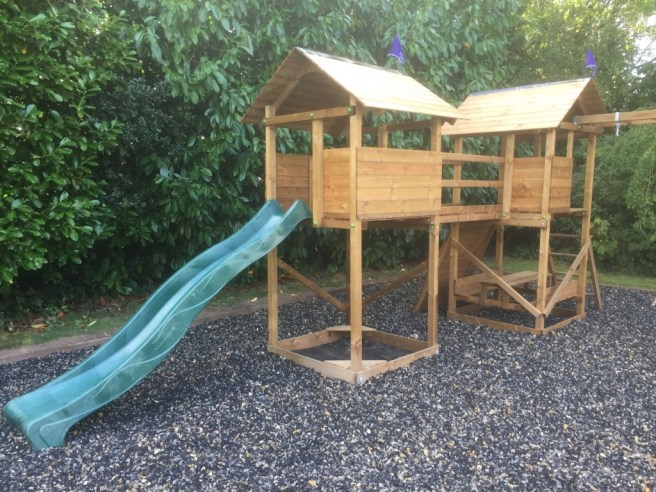 Customer Reviews: MegaFort Mountain Climbing Frame from Dunster House