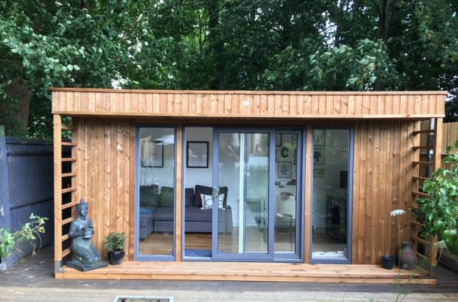 Winners - Theodore Garden Office from Dunster House Exterior Design