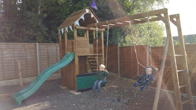 Climbing Frame with kids